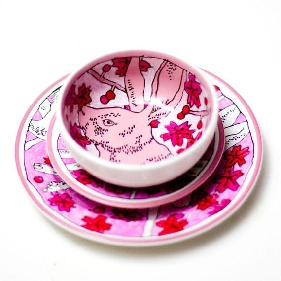 Pink Rabbit  - Mini breakfast set