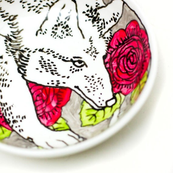 Tapas plate - Gray Wolf
