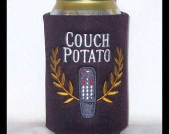 Couch Potato Can Cooler