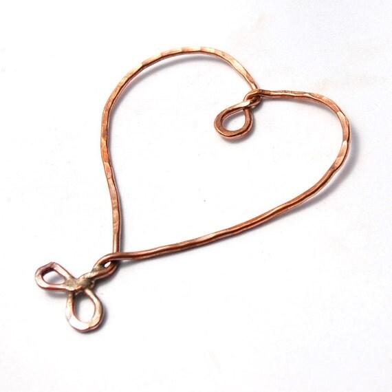 Heart Frame / Handmade Copper Heart