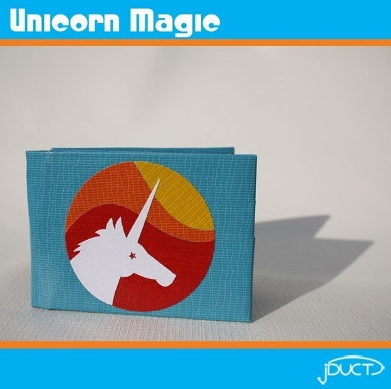 Unicorn Magic Duct Tape Wallet
