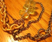 Pirate gold necklace