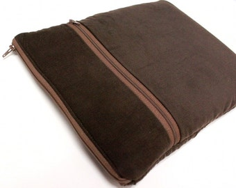 Microsoft Surface Pro 4 Case Surface Book Laptop Sleeve Tablet Cover - Brown Corduroy