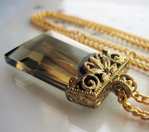 Long Gold Necklace - BOULEVARD - Costume jewelry