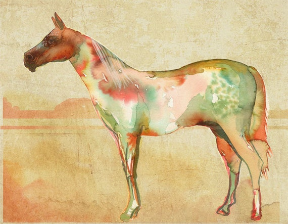 horse no.1 Art Print - 11 x 14 inches