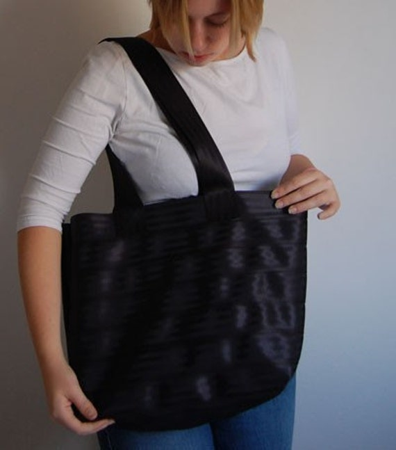 Large Upcycled Seatbelt Tote - Etsy's Strongest Tote bag