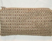 NEW REDUCED PRICE  Weave Zippered Pouch