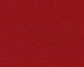 Country Red Bella Solids cotton quilting fabric from Moda 9900 17 - 1 yard