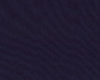 "31"" piece/remnant - Navy Bella Solids cotton quilting fabric from Moda 9900 20  - 1 yard"