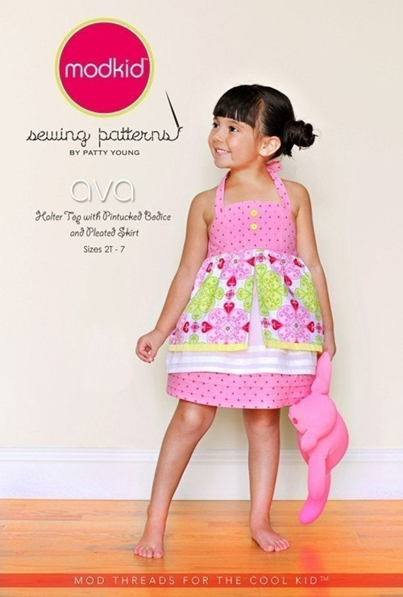 SALE- Ava sewing pattern from Modkid Boutique Patty Young