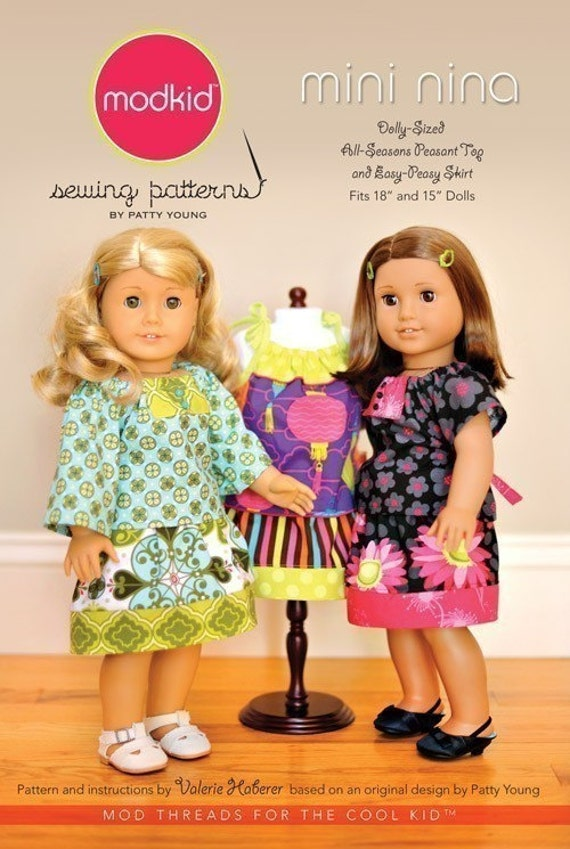 SALE - Mini Nina sewing pattern from Modkid Boutique Patty Young