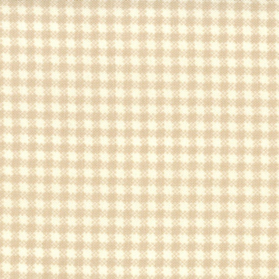 SALE - Strawberry Fields - Picnic Check in Slate: sku 20164-15 cotton quilting fabric by Fig Tree Quilts for Moda Fabrics - 1 yard