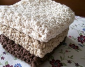 Neutral Colors Dishcloth Set