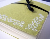 Lovely Hand Stitched Notebook