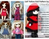 LATI YELLOW Knit Pattern Book PDF Knitting Patterns