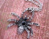 Spooky Spidey- Pendant Chain Necklace