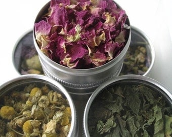 herbal tea gift set. a perfect gift for a gourmet or tea lover.
