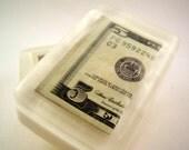 Five Dollar Bill Soap, Money Soap, Unique Gift, Fun Soap, Real Money
