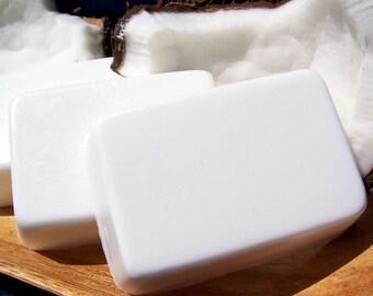 Handmade Coconut Soap, Caribbean Coconut Scented Soap