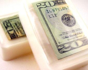 Money Soap, Twenty Dollar Bill Soap Bar