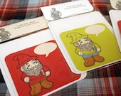 ernest the gnome greeting cards