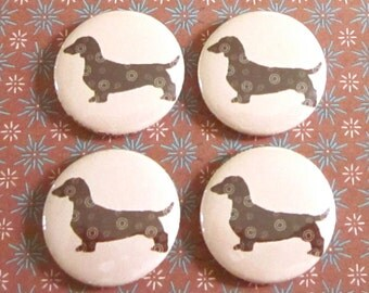 Dachshund Magnets (Set of 4)