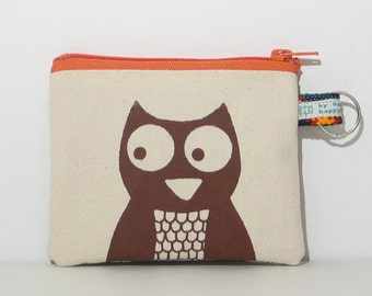Owl Change Purse