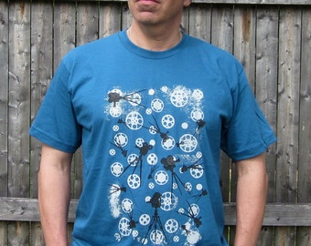 CINEMATIC Organic Cotton Tee in Galaxy Blue