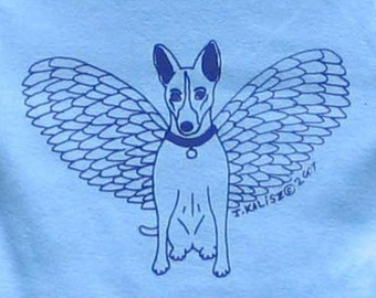 Angel Dog Baby One-Piece