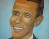 President  Barack Hussein  Obama II  -I Note Card with Envelope  Included 44th President Elect of the United States of America