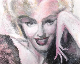 Marilyn - 6 note cards with envelopes
