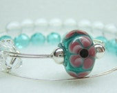 Mermaid Row Counter Bracelet Abacus for Knitting or Crochet