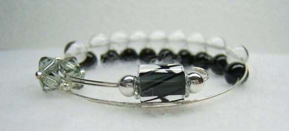 Knitting Row Counter Bracelet : Moon shadow row counter bracelet for knitting or crochet