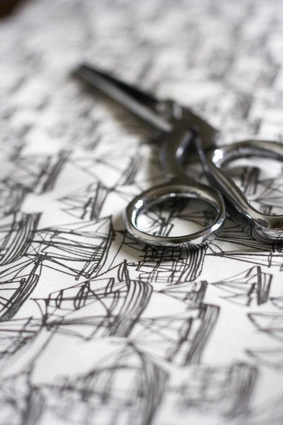 Boat Fabric One FQ - Hand Drawn Original Design