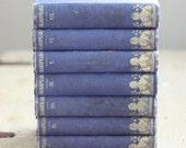 The Plays of William Shakspeare - Rare antique 1852 Shakespeare gold gilt seven book set