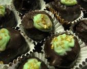 Dark Chocolate Mint Truffles - Box of 12