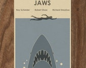 JAWS Limited Edition Movie Print - Shark Week