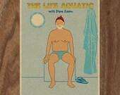 THE LIFE AQUATIC with Steve Zissou 16x12 Movie Poster Print - Version 2