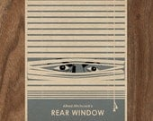 Rear Window 16x12 Movie Poster