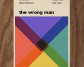 The Wrong Man Alfred Hitchcock Movie Print