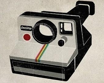 Polaroid Camera Print
