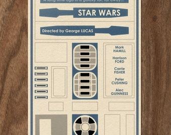 Star Wars Movie Poster - 22x16