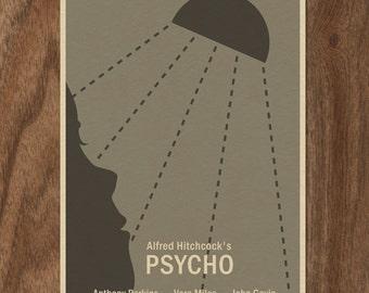 16x12 Movie Poster - PSYCHO