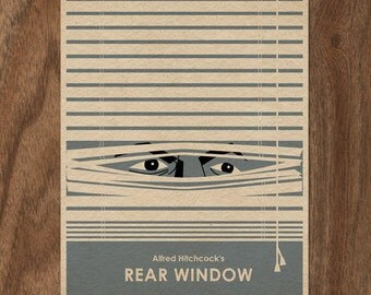Rear Window 16x12 Movie Poster