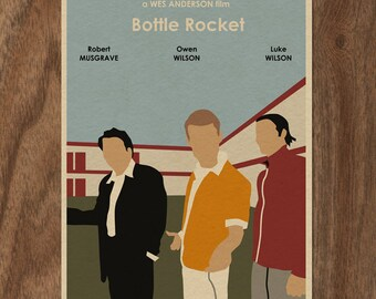BOTTLE ROCKET Limited Edition Movie Print