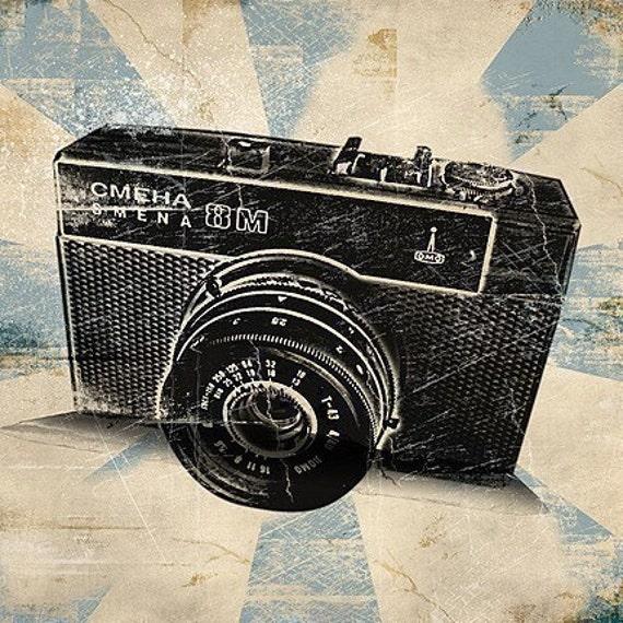 0195 retro vintage camcorder 8mm movie photo montage naked 4