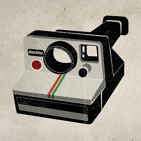 Smart image in polaroid camera printable