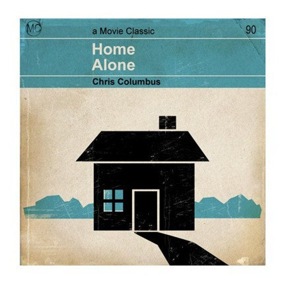 6x6 Classic Vintage Movie Print - Home Alone