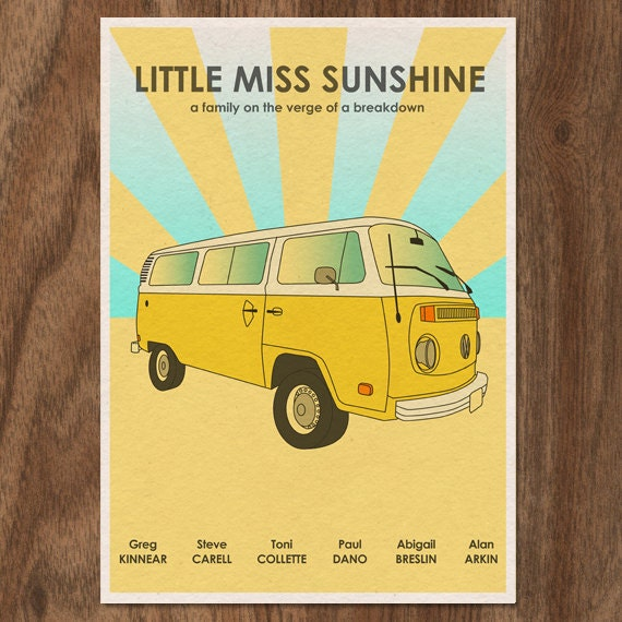 Little Miss Sunshine Limited Edition Movie Print