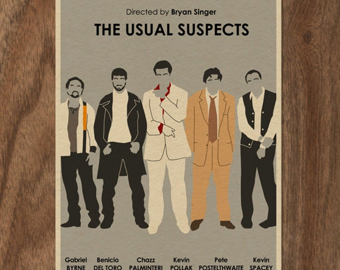 an analysis of the usual suspects In the opening sequence of the usual suspects, it foreshadows that the mood and atmosphere of the film will be creepy this is done through the music as well as mise-en-scene and camera work there is a wide pan across.